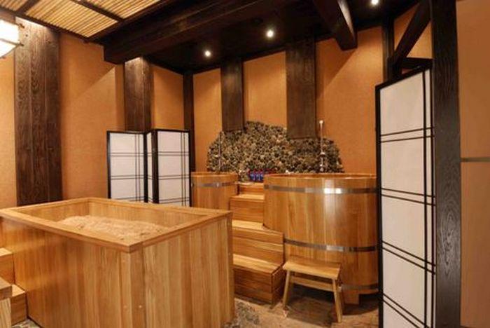Японская баня офуро своими руками Технология строительства