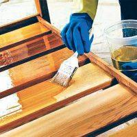 Чем обработать (покрыть) деревянную беседку