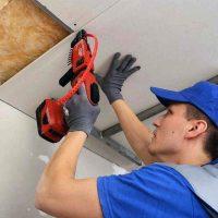 Выполняем ремонт потолка из гипсокартона