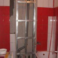 Закрываем трубы в туалете коробом из гипсокартона