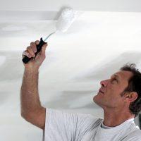 Как и чем правильно красить потолок из гипсокартона