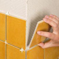 Укладка плитки на гипсокартон: порядок действий