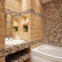 Особенности укладки плитки на гипсокартон в ванной комнате