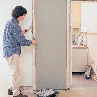 Зашиваем ненужный дверной проем гипсокартоном