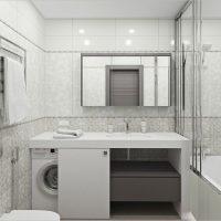 Установка столешницы из гипсокартона в ванную комнату