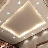 Создаем парящий потолок из гипсокартона своими руками