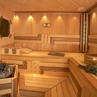 Дизайн бани внутри и снаружи