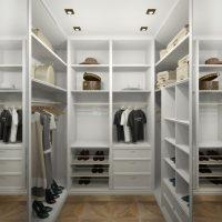 Создание гардеробной комнаты из гипсокартона